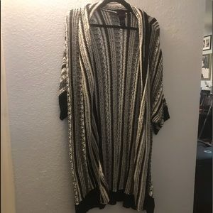 Torrid long sweater size 4